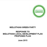 Midlothian Greens have condemned the Proposed Midlothian Local Development Plan (MLDP) as totally lacking in sustainability, and risking turning Midlothian into a suburb of Edinburgh. The MLDP was approved by […]