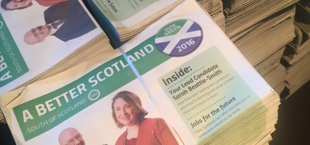 Are you ready to get active for the Greens? Your branch needs help to deliver newsletters. The Lothian election newsletters are in and ready to win some votes! Whether you're […]